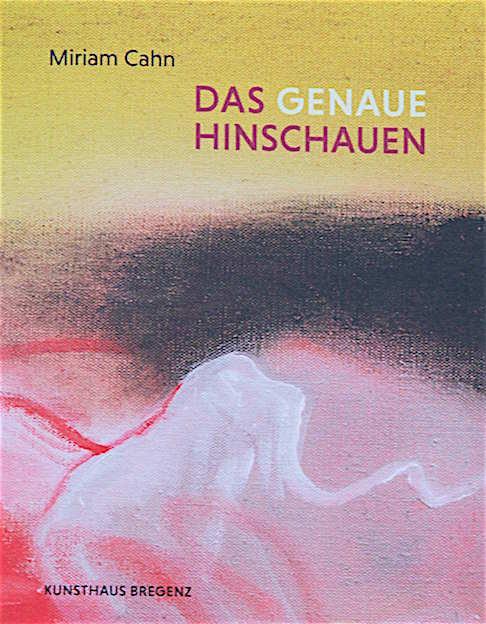 Cover des KUB-Katalogs zum Schaffen von Miriam Cahn
