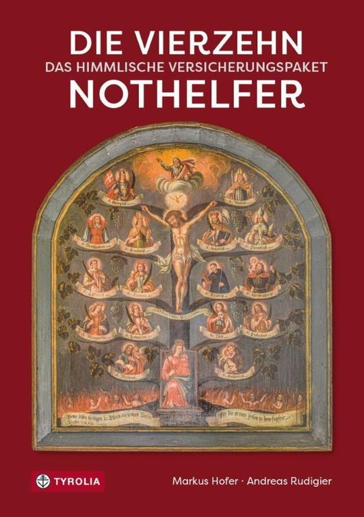 Buchcover, Die 14 Nothelfer - Das himmlische Versicherungspaket