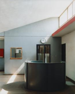 """Usine Duval, 2003, Courtesy Galleria 1/unosunove, Roma, Exhibition """"Photographic Visions of Modernist Architecture """" (c) Guido Guidi"""