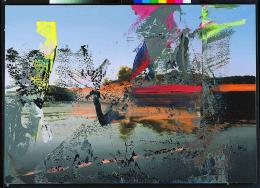 Gerhard Richter, Venedig, 1986 Öl auf Leinwand, 86 x 121 cm Museum Frieder Burda, Baden-Baden © Gerhard Richter 2020