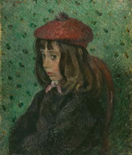 Camille Pissarro, Portrait de Félix Pissarro, 1881, Öl auf Leinwand, HxB: 55.2 x 46.4 cm © Tate Images