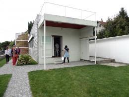 Die Stützen der Überdachung sind Metallrohre mit 6 cm Durchmesser (© MPS)