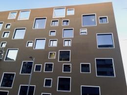 Das Atelierhaus C21 im Wiener Sonnwendviertel (© MPS)