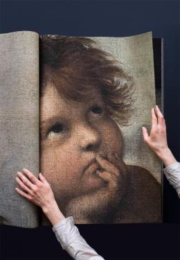 Katharina Gaenssler: Sixtina 2012 (Buch), 2012. Buchobjekt, 81 × 54 × 5 cm, 224 Fotografien, 224 Seiten
