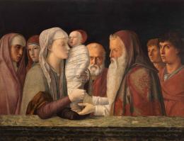 Giovanni Bellini: Die Darbringung Christi im Tempel, ca. 1472. Holz, 80 x 105 cm; © Fondazione Querini Stampalia, Venedig / cameraphoto arte snc