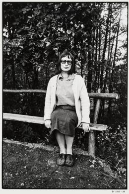 Christian Borchert, Elke Erb, 1976, Silbergelatineabzug, Staatliche Kunstsammlung Dresden, Kupferstich-Kabinett © Slub Dresden / Deutsche Fotothek