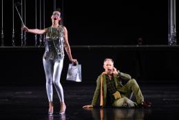 Olympia Eva Bodorová und Conte Lasca Christoph Pohl (Foto: Bregenzer Festspiele/ Karl Forster)