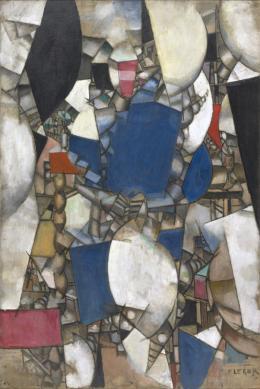 Fernand Léger: Frau in Blau, 1912. Öl auf Leinwand, 193.4 x 129.2 cm; Kunstmuseum Basel – Schenkung Dr. h.c. Raoul La Roche