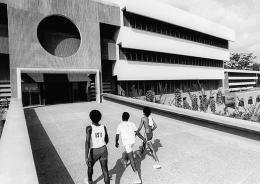 University of Ife in Ile-Ife, Nigeria, von den Architekten Arieh Sharon und Eldar Sharon; © Arieh Sharon Digital Archive