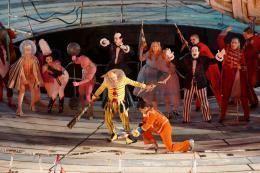 Spektakel und Tumult (© Bregenzer Festspiele/Karl Forster)