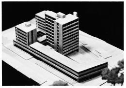 Gesamtmodell des städtebaulichen Entwurfs (© Archiv Architekt Pfeifer)