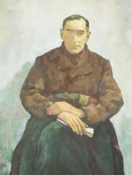 """Lotte Laserstein, """"Der Emigrant (Dr. Walter Lindenthal)"""", 1941 Öl auf Holz Malmö Konstmuseum, Schweden © Bildrecht, Wien 2020"""