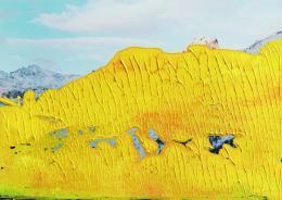 Gerhard Richter: 12.4.92, 1992. Öl auf C-Print, 12,7 x 17,7 cm. Sammlung Niedersächsische Sparkassenstiftung im Sprengel Museum Hannover; (c) Gerhard Richter, 2019