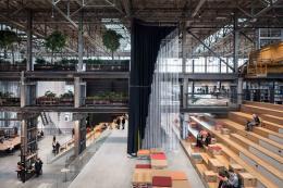 Space and Experience, Architektur für ein besseres Leben Civic Architects (Gert Kwekkeboom, Ingrid van der Heijden, Jan Lebbink, Rick ten Doeschate), LocHal, Tilburg (NL), 2019 © Stijn Bollaert