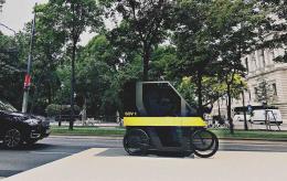 Klimawandel! Vom Massenkonsum zur nachhaltigen Qualitätsgesellschaft Eoos, SOV, Visualisierung, 2018 Soziales Fahrzeug © Eoos