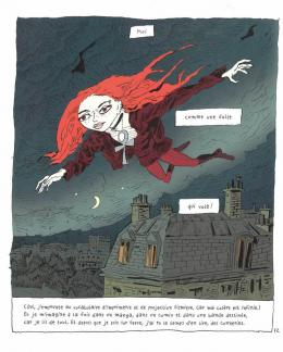 «Petit Vampire. Acte 2» Rue de Sèvres 2018; © Joann Sfar