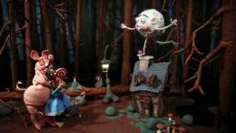 Nathalie Djurberg & Hans Berg: Dark Side of the Moon, 2017. Stop motion animation, video, music, 6:40 Min.; © Nathalie Djurberg & Hans Berg / VG Bild-Kunst, Bonn 2018