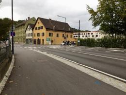 Vergebliche Suche nach einer Verbindung zum Jahnplatz (© M PS)