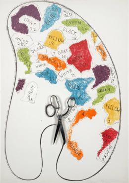 Jim Dine: Palette No. 1, 1969. Multipel; Kunsthalle Bremen – Der Kunstverein in Bremen. © VG Bild-Kunst, Bonn 2019