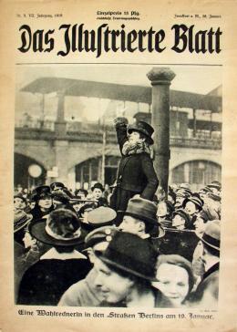 "Titelseite ""Das Illustrierte Blatt""; Frankfurt a. M., 28. Januar 1919. © DHM"