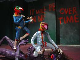 Nathalie Djurberg & Hans Berg: I Wasn't Made to Play the Son, 2011. Stop motion animation, video, music, 5:57 Min.; © Nathalie Djurberg & Hans Berg / VG Bild-Kunst, Bonn 2018