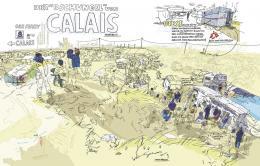"""""""Calais"""" Olivier Kugler Die gezeichne © Olivier Kugler"""