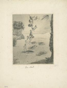 Alfred Kubin, Das Maul, um 1900, Tusche laviert auf Katasterpapier, Grafische Sammlung der Landesgalerie Linz © Eberhard Spangenberg, München / Bildrecht Wien 2019