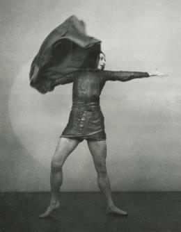 "Rosalia Chladek in ""Jeanne d'Arc"", Stockholm, 1938, Foto: Anna Riwkin,  Theatermuseum © KHM-Museumsverband"