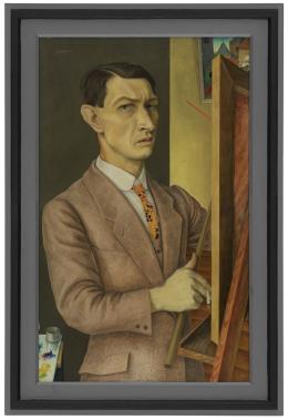 Rudolf Wacker, Selbstbildnis 1927, Foto: Günter König