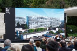 Preis der europäischen Union für zeitgenössische Architektur – Mies van der Rohe Award 2019, Preisverleihung in Barcelona © Foto: Anna Mas