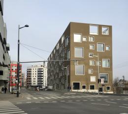 Das Atelierhaus C21 ist ein bemerkenswerter städtebaulicher Beitrag (© MPS)