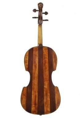 Jakob Stainer, Rückansicht der Viola, Absam ca. 1671; TLMF Musiksammlung Inv. Nr. M/I 351  © TLM
