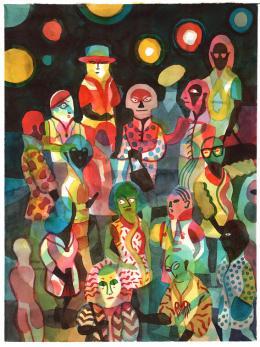 """@ Brecht Evens, """"Les Rigoles"""", Actes Sud, 2019, Courtesy Galerie Martel, Paris"""