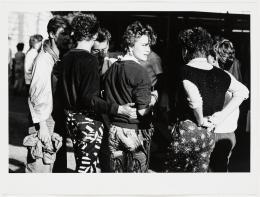 Christian Borchert, Kamenzer Forstfest, 1986, Silbergelatineabzug, 25,2 x 37,7 cm, Staatliche Kunstsammlungen Dresden, Kupferstich-Kabinett © Slub Dresden / Deutsche Fotothek