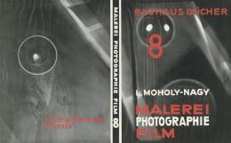 László Moholy-Nagy Malerei Photographie Film Bauhausbuch 8, Probedruck des Buchumschlags, 1925 © Kunstbibliothek, Staatliche Museen zu Berlin