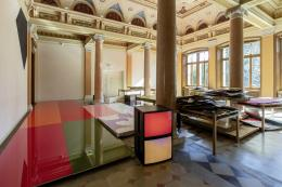 Adrian Schiess, Installationsansicht, Kunstmuseum St.Gallen, Foto: Stefan Rohner
