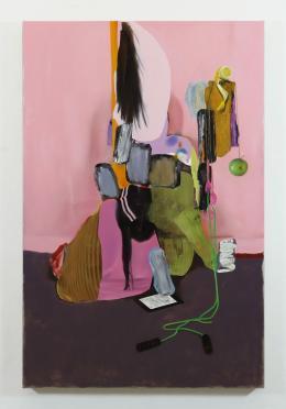 Asgar/Gabriel, ohne Titel, 2019, Öl auf Leinwand, 200x130cm, Courtesy Bechter Kastowsky Galerie und die Künstler