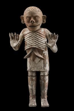 Mictlantecuhtli © D.R. Archivo Digital de las Colecciones del Museo Nacional de Antropología, Secretaría de Cultura – INAH|