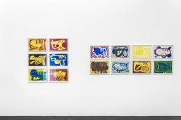 "Richard Allen Morris, ""Multiple Identities"",  Ausstellungsansicht, Häusler Contemporary Zürich, 2021 | Foto: Peter Baracchi"