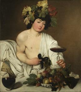"""Michelangelo Merisi da Caravaggio """"Baccus"""" © Wikipedia CC"""
