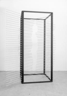 Rebecca Horn, Messkasten, 1970 Fotografie  Staatsgalerie Stuttgart © 2019: Rebecca Horn/ProLitteris, Zürich
