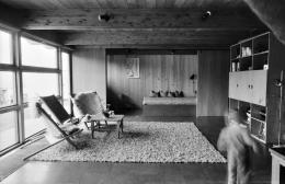 Rudolf Wäger, Siedlung Ruhwiesen, Schlins, 1971–1973, Innenraum © Architekturzentrum Wien, Sammlung, Foto: Friedrich Achleitner