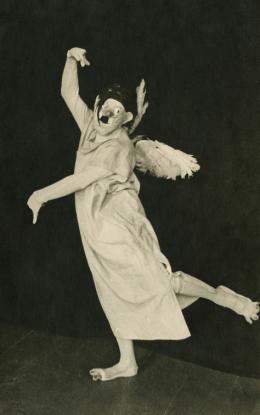 "Cilli Wang in ""Das Gespenst"", 1936, Foto: Gevaert,  © Privatbesitz"