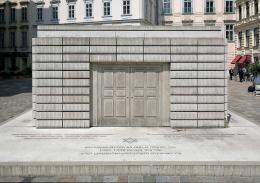 Mahnmal für die österreichischen Opfer der Schoah am Wiener Judenplatz