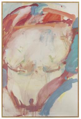 Maria Lassnig, Informell 1960, Foto: Günter König