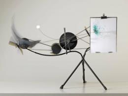 Jean Tinguely, Méta-Matic No. 10, 1959, Museum Tinguely, Basel, Donation Niki de Saint Phalle © 2021, ProLitteris, Zürich, Museum Tinguely, Foto: Serge Hasenböhler