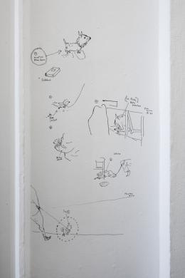 Ausstellungsansicht Per Dybvig, Salzburger Kunstverein 2019, Foto: Andrew Phelps, © Salzburger Kunstverein