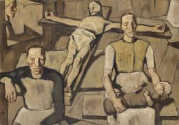 Albin Egger-Lienz, Mütter, 1922-1923; 141 x 201 cm, Öl auf Leinwand  © Tiroler Landesmuseen