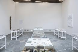 Lois Weinberger, Debris Field, 2010-19,  Foto: Johannes Stoll / Belvedere, Wien  Courtesy: Studio Lois Weinberger und Galerie Krinzinger Wien