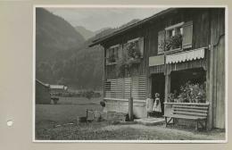 """""""Bregenzerwaldhaus"""", Vorarlberg, Österreich, 1. Hälfte 20. Jh, Silbergelatineabzug © Volkskundemuseum Wien"""